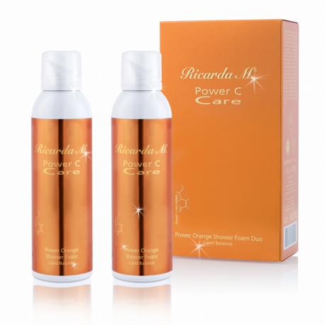 Power Orange Shower Foam Lipid Balance Duo ( 2x200 ml )